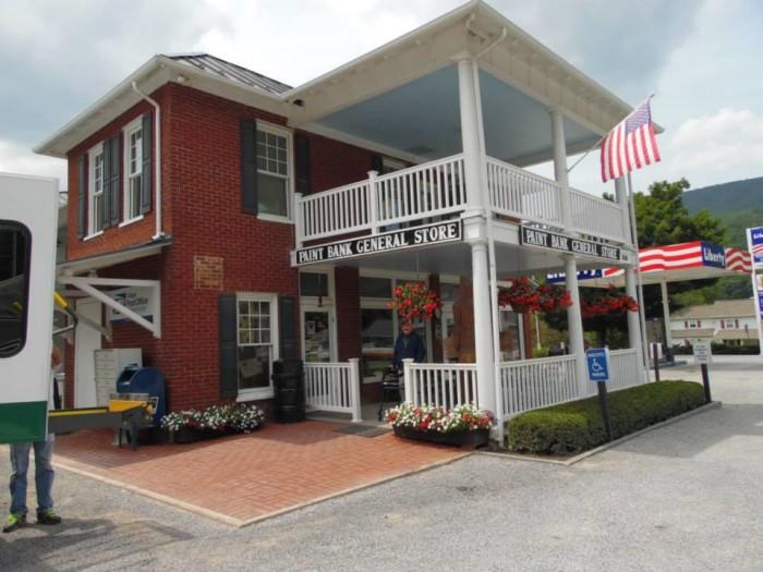 12. The Swinging Bridge Restaurant at the Paint Bank General Store, Paint Bank