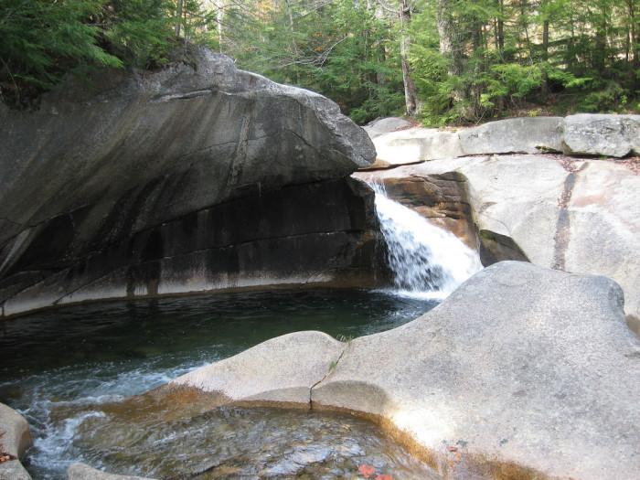 20. The Basin, Franconia Notch