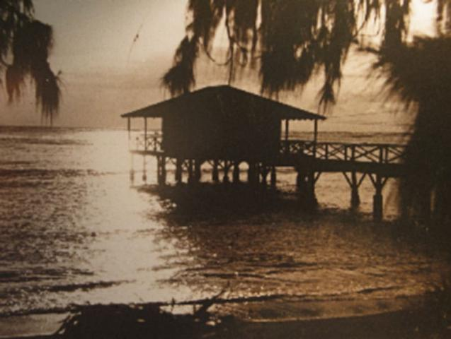11) The pier at the home of Queen Liliuokalani is quite magical.