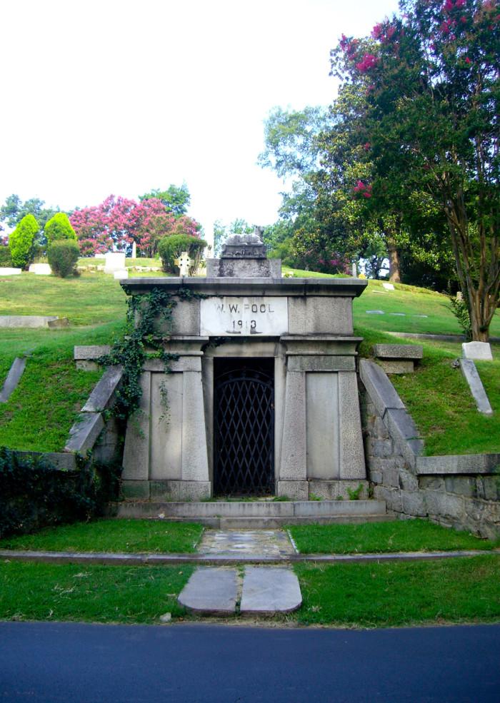 Tomb of WW Poole 1