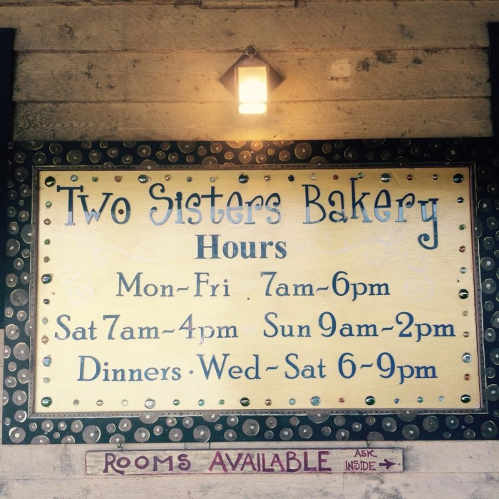 2) Two Sisters Bakery in Homer