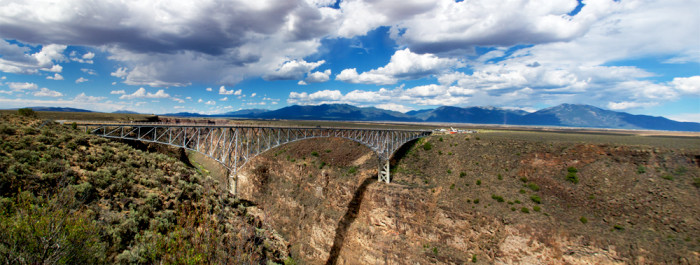 1. Rio Grande Gorge Bridge, near Taos