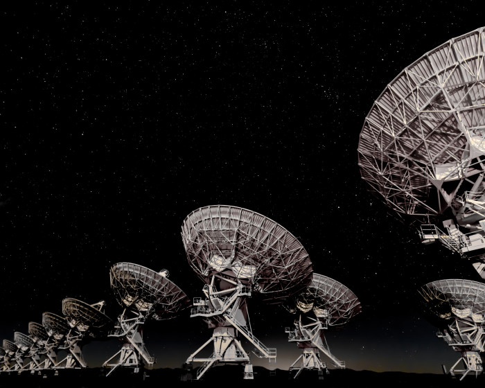 12. There's something a little unnerving about the sight of these radio telescopes standing as silent sentinels on the plains near Magdalena.