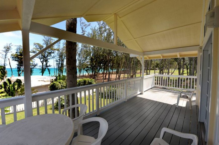 3) Waimanalo Beach Cottages, Oahu