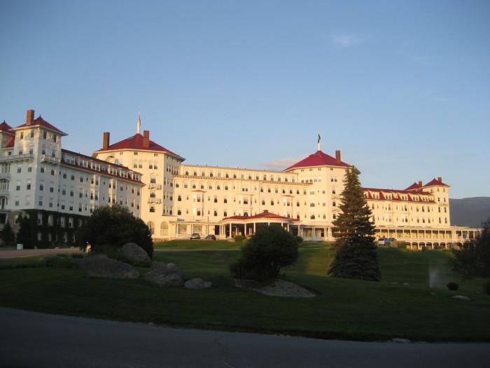 8. The Mount Washington Hotel, Bretton Woods