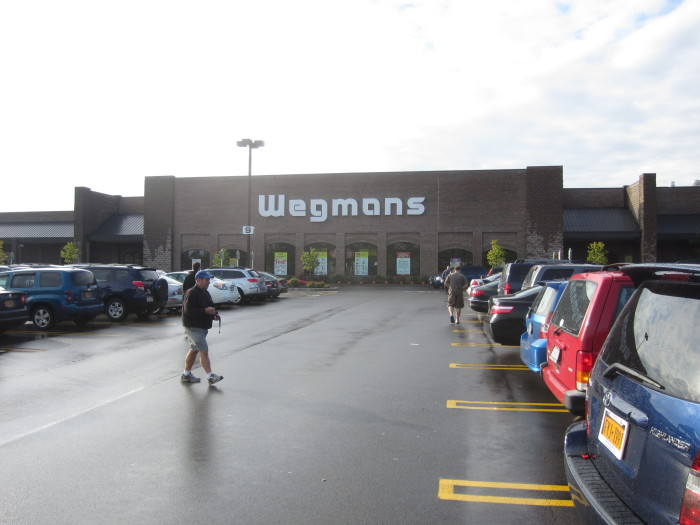1. Why do you guys always talk about your love for Wegmans?