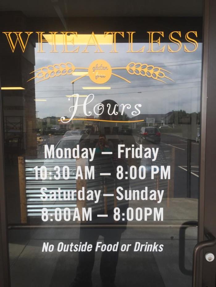 4. Wheatless