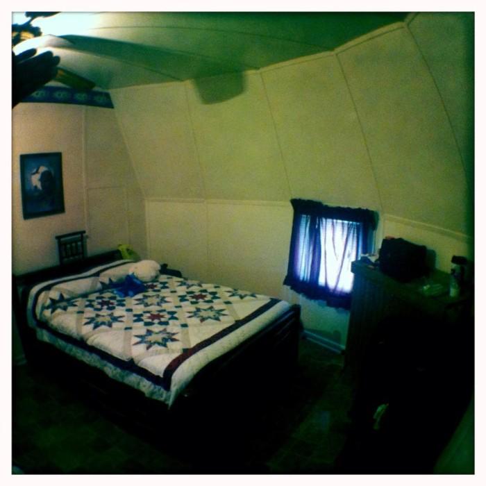Wigwam Village room.