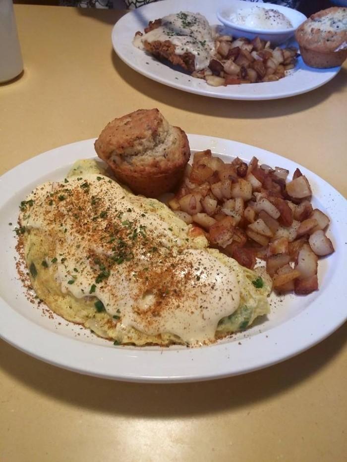 Wild Eggs food.