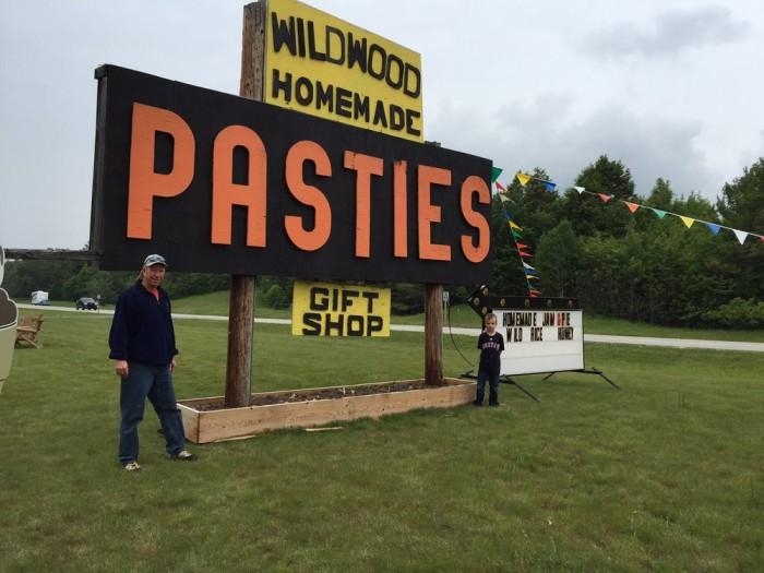 1) Wildwood Pasties, Moran