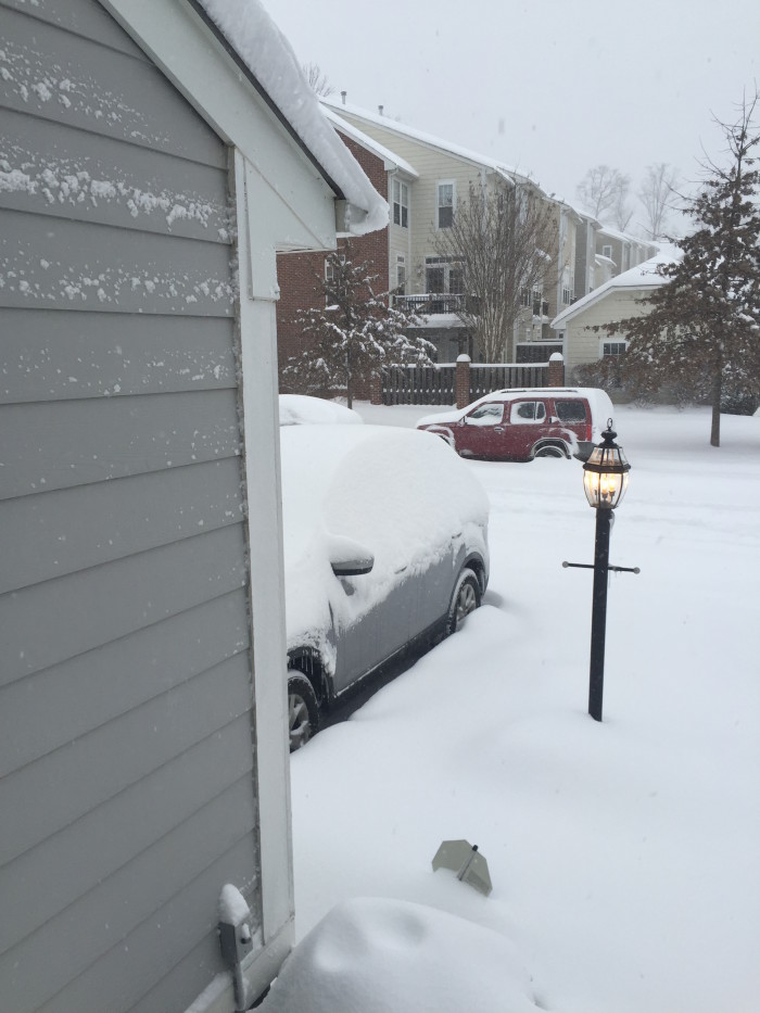Step 4: Wake up to a snow-covered winter wonderland and loudly proclaim how much you LOVE THE SNOW!!!