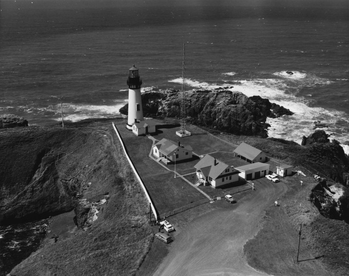 7. Yaquina Head Lighthouse, 1962.