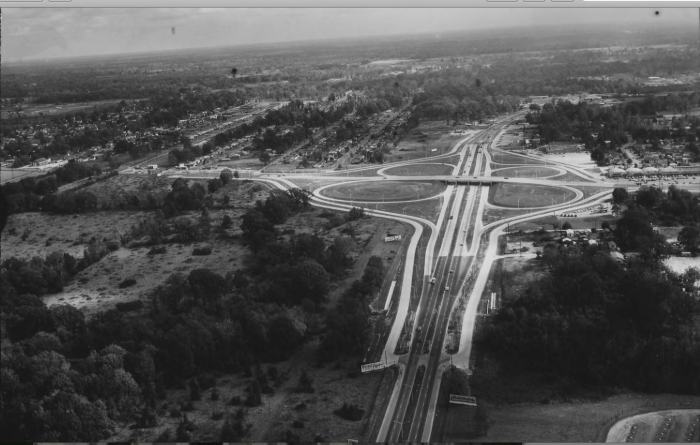 11. Airline Highway Interchange, Baton Rouge, Louisiana in 1961