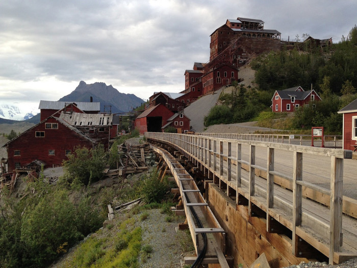 2. Alaska: Kennecott Copper Mining Camp, Valdez-Cordova