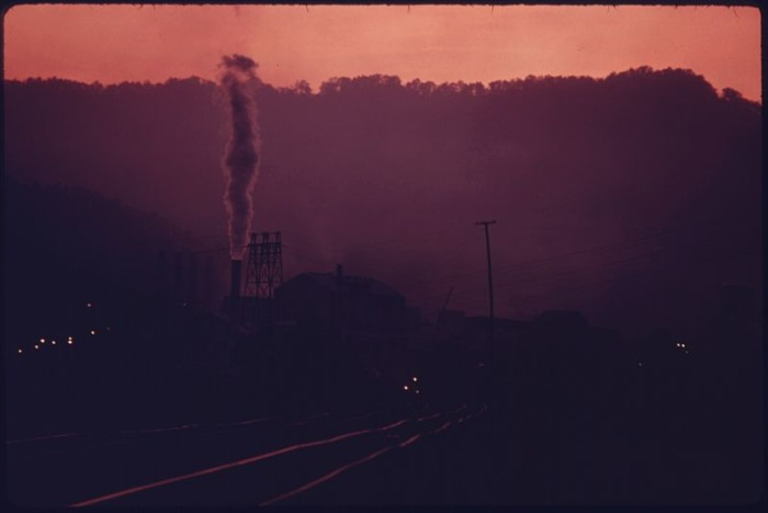 12. This was a Union Carbide plant in Alloy (Fayette County) in 1975.