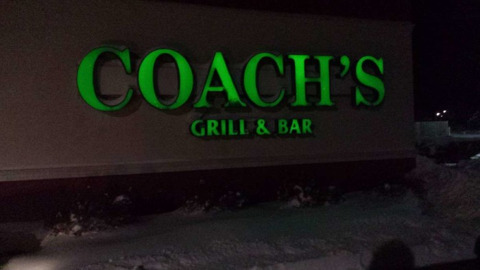 7. Coach's Neighborhood Grill and Bar (Junction City)