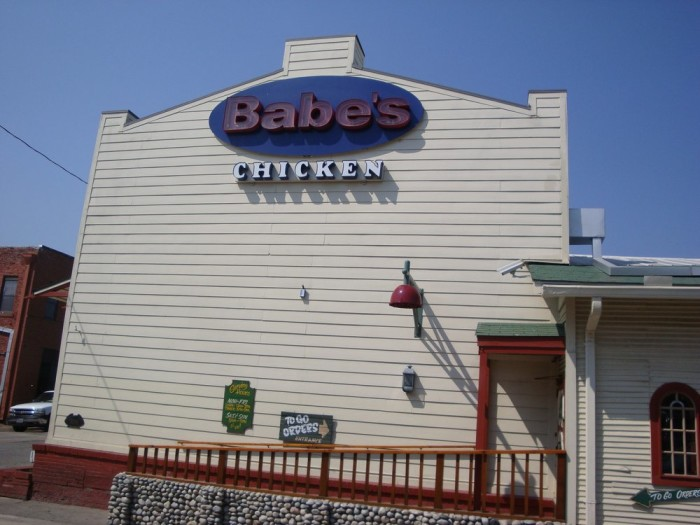 3. Babe's Chicken Dinner House (Carrollton)