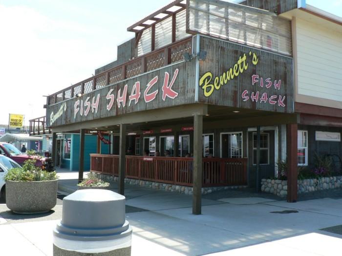 2. Bennett's Fish Shack, Westport