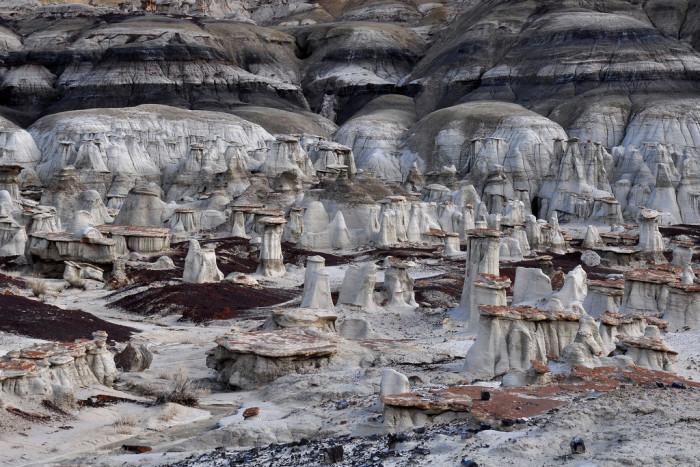 8. Bisti Wilderness, near Nageezi