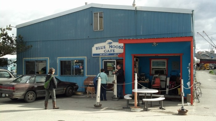 3. The Blue Moose Cafe in Port Townsend may not be all fancy out front...