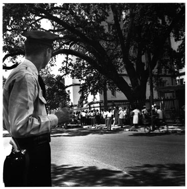 "2. Photographer A. E. Woolley, ""Baton Rouge Bus Boycott,"" 1953."