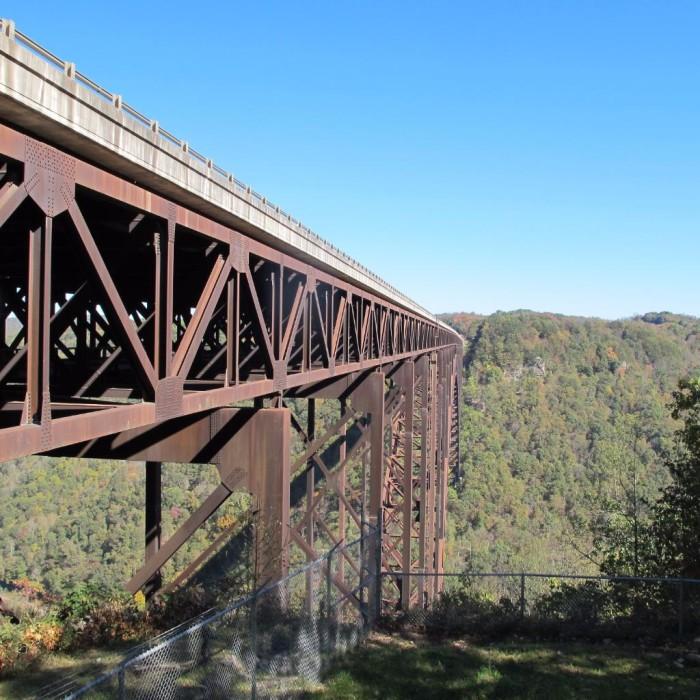 3. Bridge Walk in Fayetteville