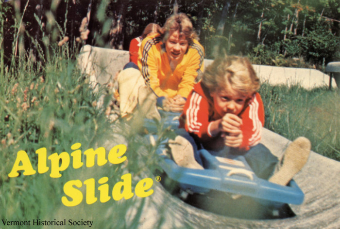 5.  The Bromley Slide was the only Alpine Slide back then.