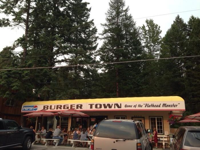 13. Burgertown Dairy Freeze, Bigfork