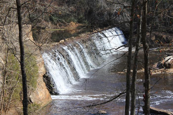 2. Pay a visit to Cedar Falls in Fountain Inn.