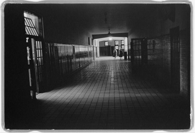 3. Central High Hallway