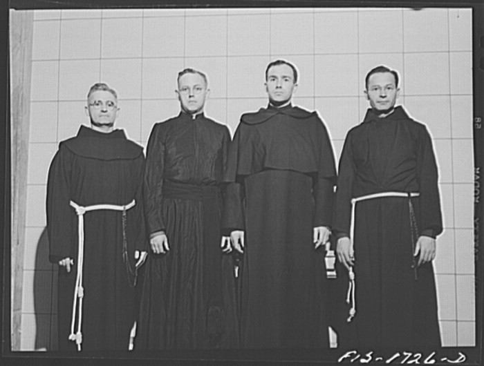 chaplains in robes