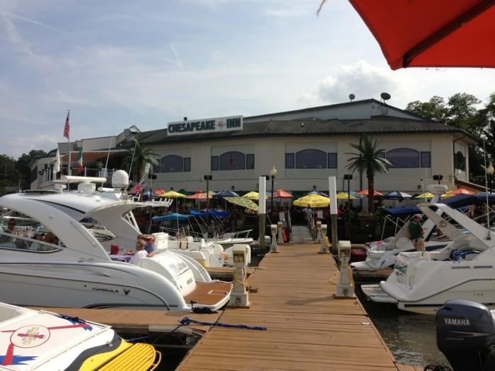 7) Chesapeake Inn Restaurant and Marina, Chesapeake City