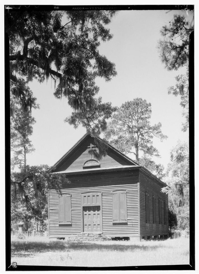 12. Church in Pinopolis. Berkeley County. (Date is approximately 1934.)
