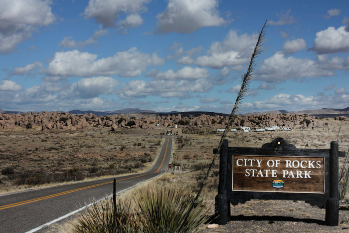 4. City of Rocks State Park, between Silver City and Deming