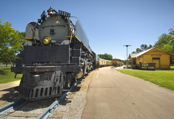 Learn about trains and blow off some steam at Cody Park in North Platte