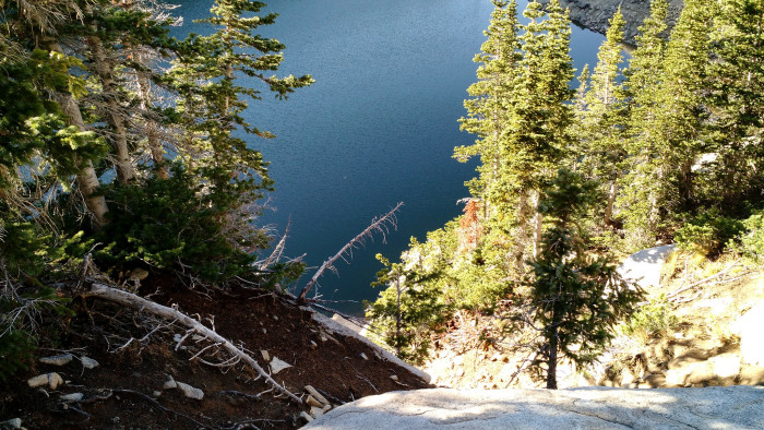 7. An azure mountain lake...