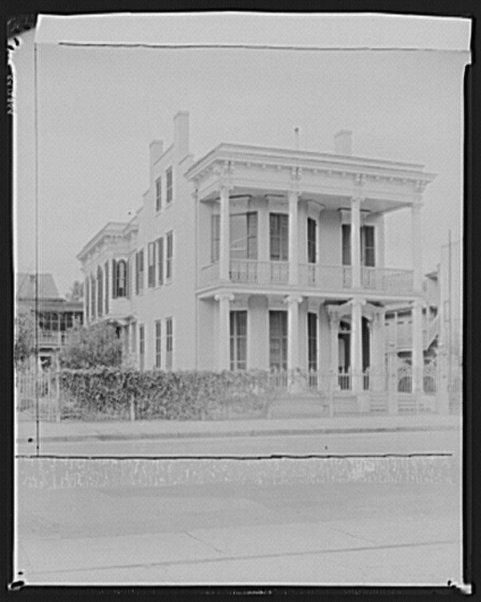 10. Another Garden District Mansion, New Orleans January 1936