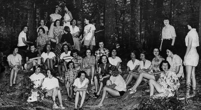 10. Delta Iota sorority at Louisiana state in the 1950s
