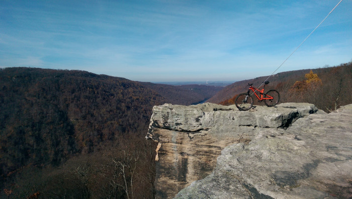 5. Coopers Rock State Forest