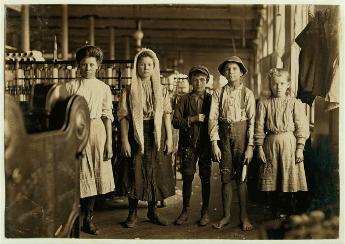 Children under 16 used to work 60 hours a week in South Carolina.
