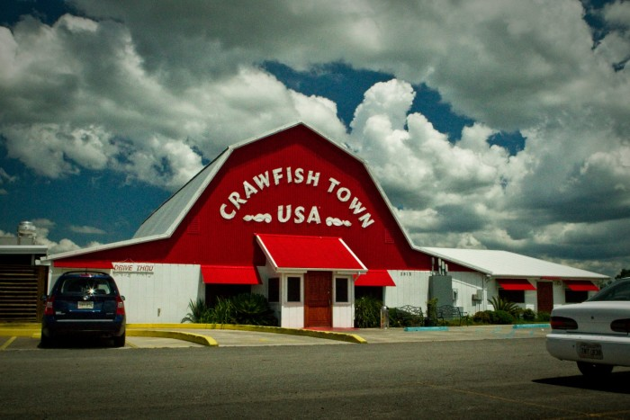 8. Crawfish Town USA, Henderson, LA