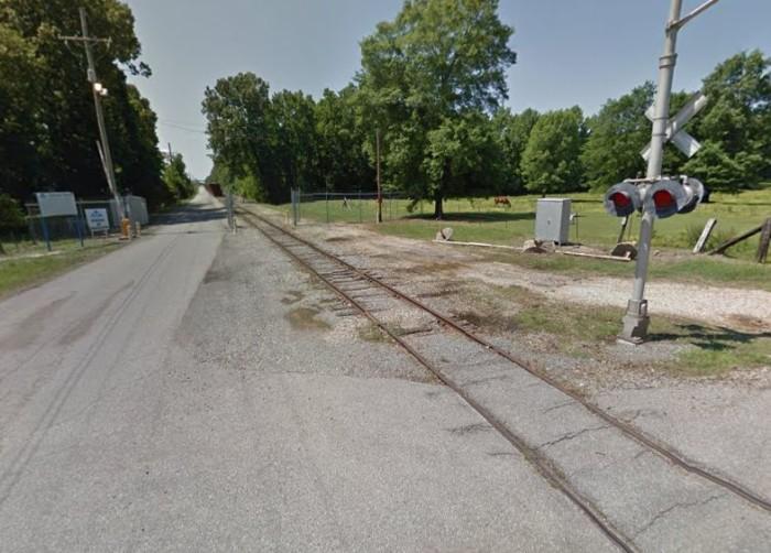 17. Crossett Railroad Tracks