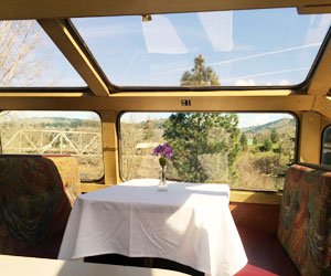 10. ...Or step aboard the Timber Baron Dinner Train on the Mount Hood Railroad.