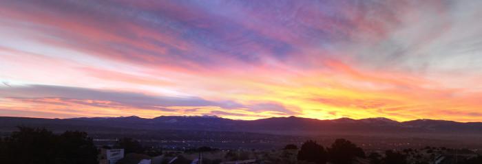 7. Sunrise in Española