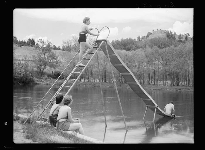 37. Facilities for recreation in the Pine Ridge area. Dawes County, Nebraska - 1936