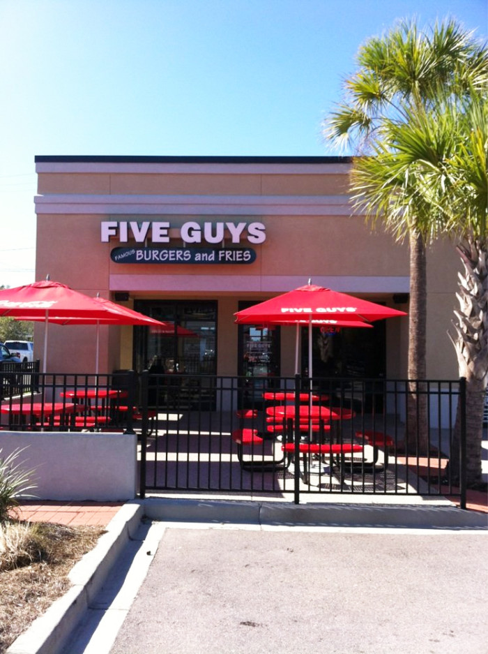 10 places in south carolina for great fries for 5 star restaurant exterior
