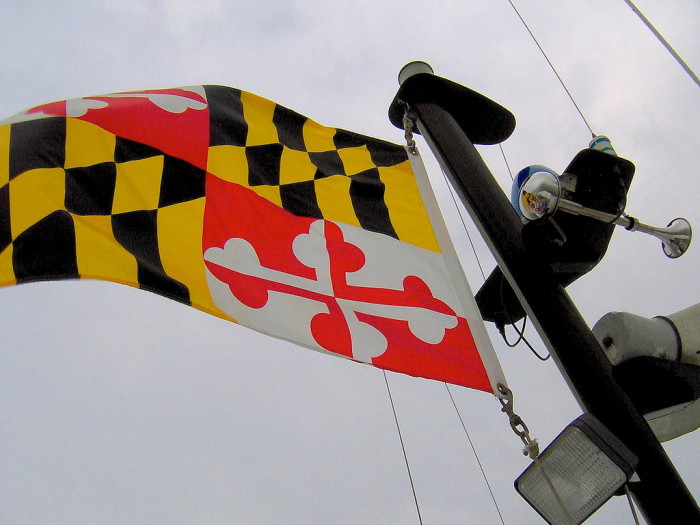 11) Why are Marylanders obsessed with their flag?