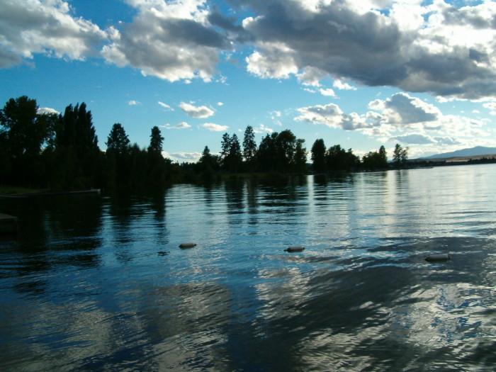 15. Flathead Lake