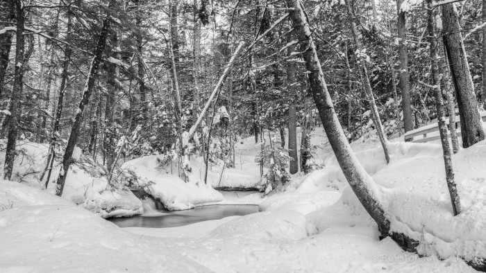 12. Frozen Franconia is even better in winter.