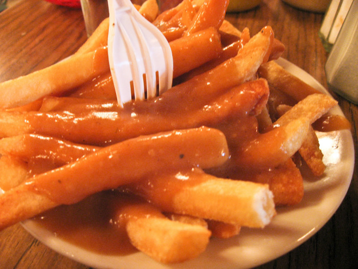 8. Fries and gravy